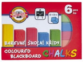 Kredka kolorowa KOH-I-NOOR do tablic  6 kolorów