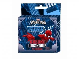 Kredki woskowe BENIAMIN 12 kolorów Spider-Man