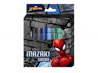 Mazaki grube BENIAMIN 10 kolorów Spider-Man