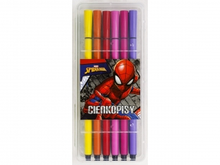 Cienkopisy BENIAMIN 12 kolorów Spider-Man