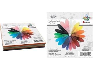 Papier do origami TITANUM 15x15cm 100szt,