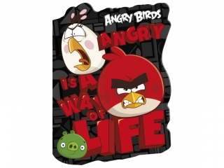 Notes kszta³towy A6 DEFRORM Angry Birds