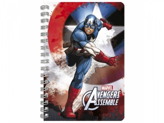Notes spiralny A6 DERFORM Avengers