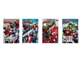 Notes A6 30k. z poddrukiem BENIAMIN Avengers