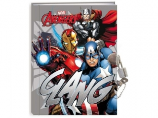 Pamiêtnik z k³ódk± BENIAMIN Avengers