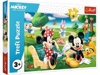 Puzzle   24 Maxi TREFL Myszka Miki w gronie przyjació³