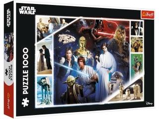 Puzzle 1000 TREFL Star Wars - W odleg³ej galaktyce
