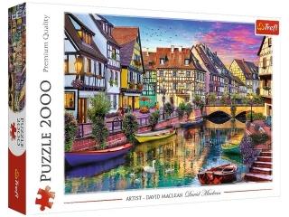 Puzzle 2000 TREFL Colmar,Francja