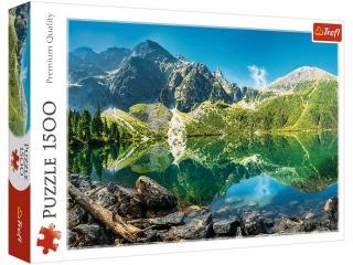 Puzzle 1500 TREFL Jezioro Morskie Oko, Tatry