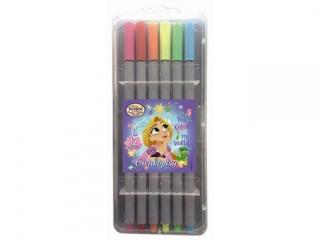 Cienkopisy BENIAMIN 12 kolorów Princess