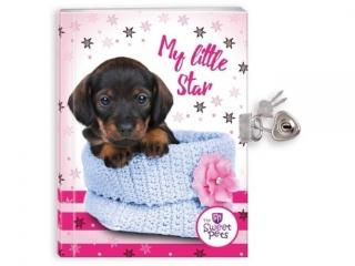 Pamiêtnik z k³ódk± BENIAMIN The Sweet Pets - Pies