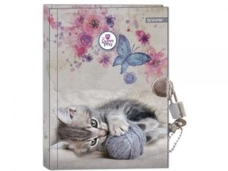 Pamiêtnik z k³ódk± BENIAMIN The Sweet Pets - Kot