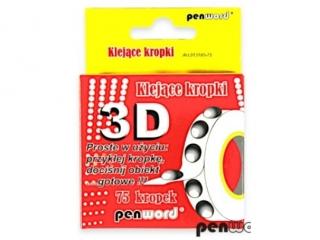KLEJ¡CE KROPKI 75 3D 1,5mm