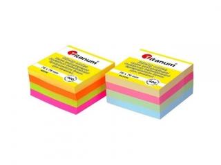 Notes samoprzylepny TITANUM 76x76 400k Pastel