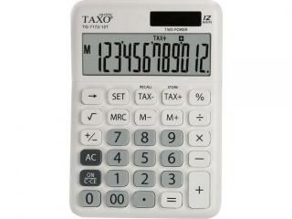Kalkulator Taxo Tg7172-12t Bia
