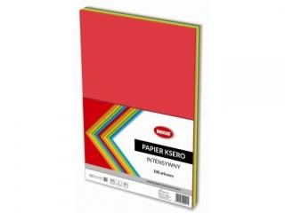 Papier ksero REXUS A4 100ark. Intensywny kolor mix