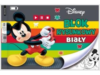 Blok rysunkowy A4 20k. BENIAMIN Mickey Mouse, z pierwsz± str