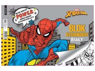 Blok rysunkowy A4 20k. BENIAMIN Spider-Man, z pierwsz± stron