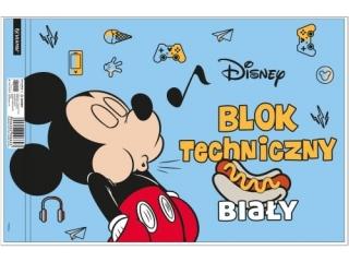 Blok techniczny A4 10k. BENIAMIN Mickey Mouse