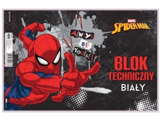 Blok techniczny A4 10k. BENIAMIN Spider-Man