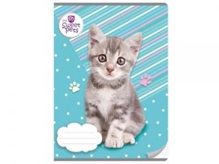 Zeszyt A5 16k. BENIAMIN The Sweet Pets - Kot, trzy linie