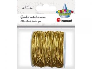 Gumka-sznurek TITANUM z³oty