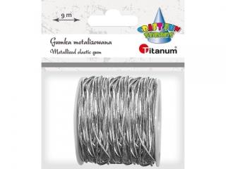 Gumka-sznurek TITANUM srebrny