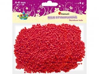 Kulki styropianowe TITANUM 3-5mm/8g czerwone