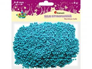 Kulki styropianowe TITANUM 3-5mm/8g niebieskie jasne