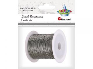 Drucik florystyczny TITANUM srebrne