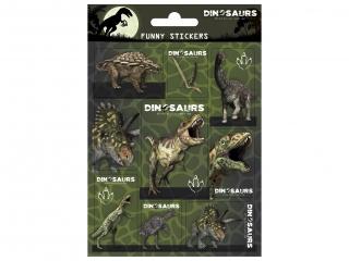 Naklejki funny DERFORM Dinozaur