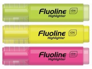 Zakre¶lacz INTERDRUK Fluoline display mix kolorów