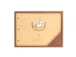 Album drewniany DPCRAFT 190x270mm, 28 kartek Jednoro¿ec