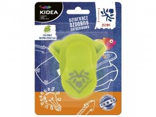 Dziurkacz ozdobny KIDEA naro¿nikowy 25mm