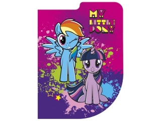 Notes kszta³towy A6 DERFORM My Little Pony