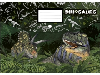 Teczka koperrtowa A4 PP DERFORM Dinozaur 11