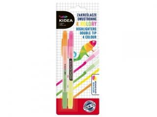 Zakre¶lacze dwustronne KIDEA 4 kolory