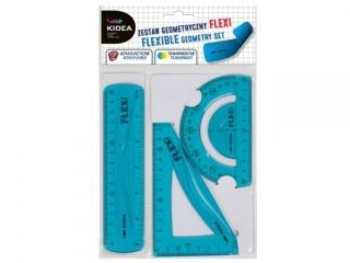 Zestaw geometryczny KIDEA Flexi 15cm 3el.