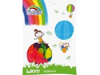 """Balony FIORELLO 10"""" neonowe 100szt. mix kolorów"""