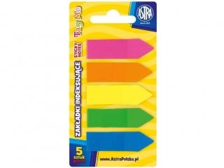Zak³adki indeksuj±ce Astra 5 kolorów (PB5)