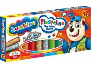 Plastelina BAMBINO 12 kolorów