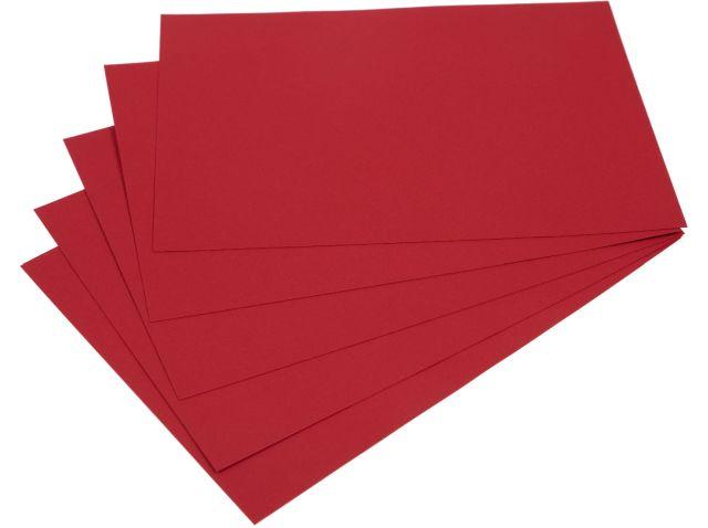 Samolepicí papír A4 - červený, 20 listů