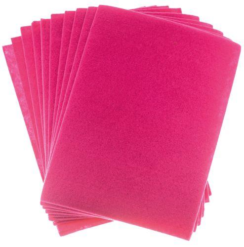 Filc růžový A4 , síla 2 mm - balení 10 kusů