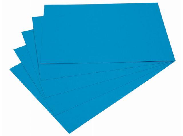 Samolepicí papír A4 - modrý, 20 listů