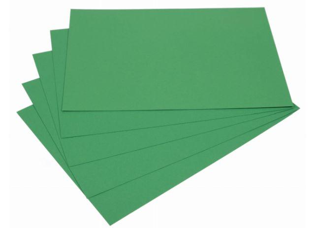 Samolepicí papír A4 - zelený, 20 listů