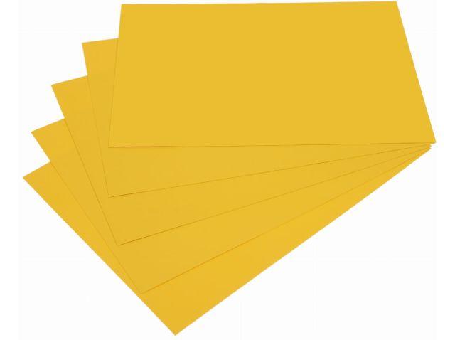 Samolepicí papír A4 - žlutý, 20 listů