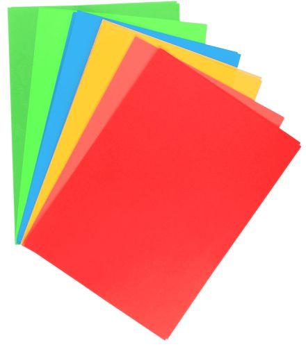 Samolepicí papír A4 - mix barev, 20 listů