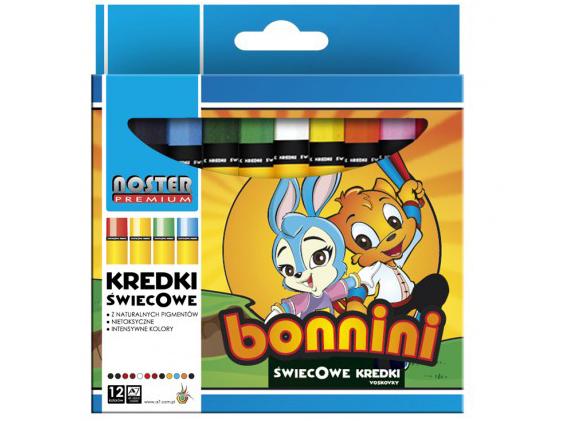 Voskovky Noster Premium Bonnini - 12 barev