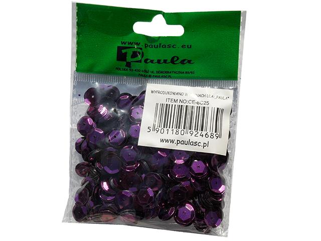 Flitry 8 mm, 12g - barva tmavě fialová