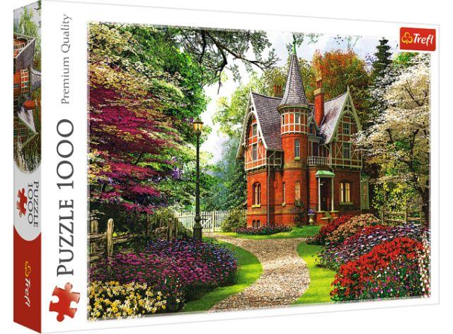 Puzzle 1000 dílků - Viktoriánský dům